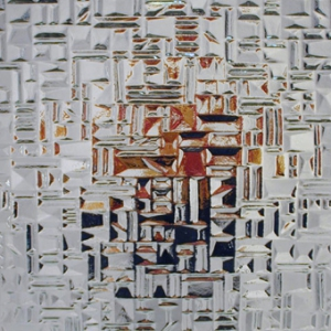 Abstracto 187 weiß 4mm